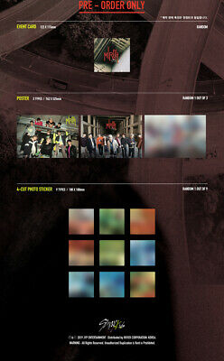 STRAY KIDS [CLE 1:MIROH] Mini Album NORMAL CD+POSTER+P.Book+Card+GIFT+Pre-Order 6