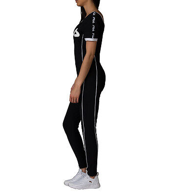 d9533db7ccb ... NEW Fila High Neck Unitard Legging Jumpsuit With Front Zip LW171XS9  GINA UNITARD 3