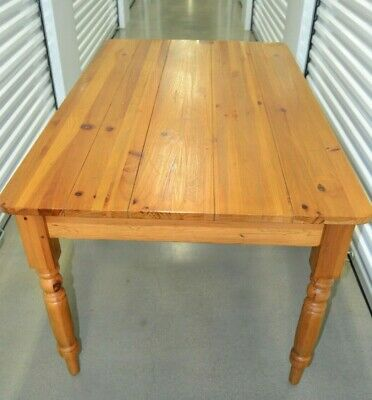 Ethan Allen Farmhouse Pine Small Dining Table Writing Desk Pine 23 6023 223 795 00 Picclick