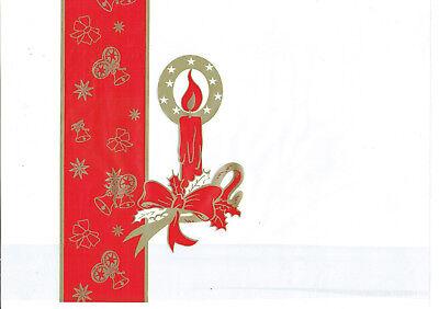 Stollenbeutel Weihnachtsstollen Pergament - PP Folie  55 x 20 x 8 cm Stollentüte