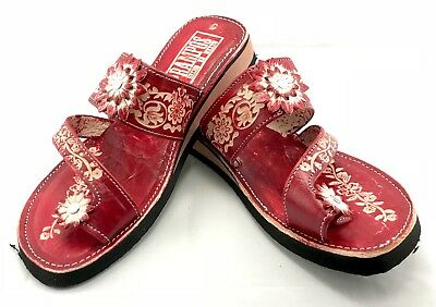 f437ade70 ... Womens Mexican Handmade Leather HUARACHES Sandals Sandalia Mujer MEXICO  DEDO 5