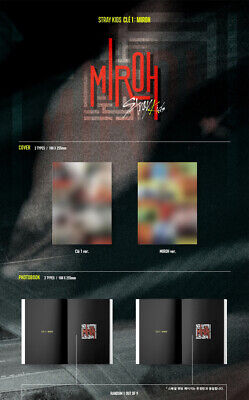 STRAY KIDS [CLE 1:MIROH] Mini Album NORMAL CD+POSTER+P.Book+Card+GIFT+Pre-Order 4