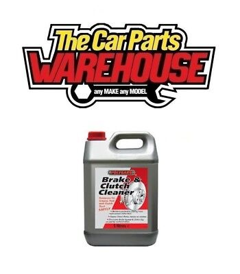 BRAKE AND CLUTCH CLEANER ELIMINATES BRAKE SQUEAL 5L ( Polygaurd / Polygard / QH) 3