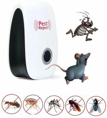 Pest Reject Pro Ultrasonic Repeller Home Bed Bug Mites Spider Defender Roaches 2