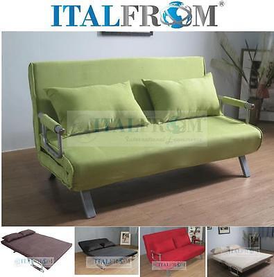 Divano Letto Bruco.Divano Letto Divanoletto Sofa Sofa Microfibra Divani Prontoletto Italfrom Design