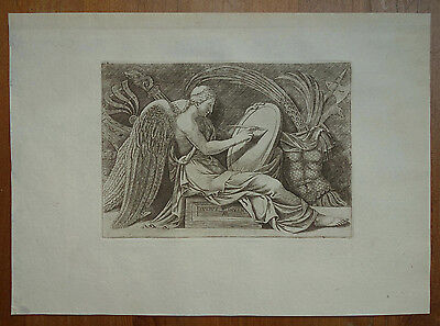 Adamo Scultori ´viktoria; Victory; La Vittoria´ B. 105, Kupferstich, ~1565 2