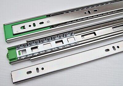 2 STÜCK MB FERRAMENTA VOLLAUSZUG 35 Kg 350-600mm TELESKOPAUSZUG SCHUBLADENAUSZUG
