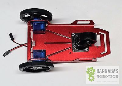 2WD Two Wheel Drive Metal Smart Robot Car Chassis Arduino DC Motor DIY USA