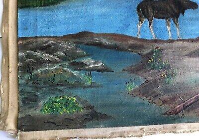 Marcel Fournier Painting Original Antique RARE Appraised $4000 + 5