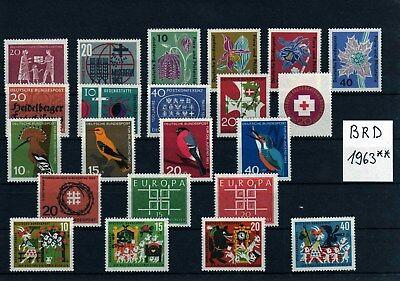 BRD  Jahrgänge 1960 - 1969 ** komplett  postfrisch mit Blockeinzelmarken   (2)