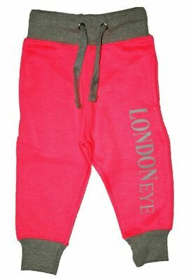 Pink/Grey Souvenir Girls Tracksuit Zipped Top | Cuffed Ankle Bottom | 0 -16 Year 4