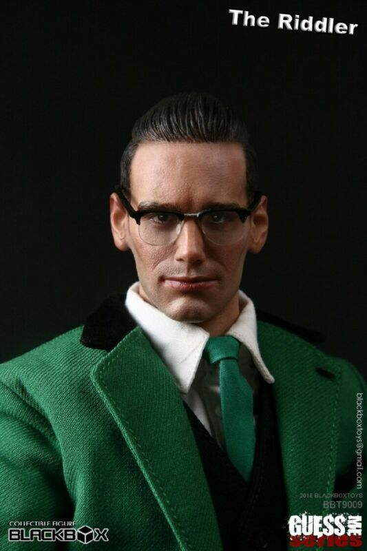 BLACKBOX 1//6 GUESS ME SERIES The Riddler MODEL MOVEABLE MALE ACTION FIGURE TOY