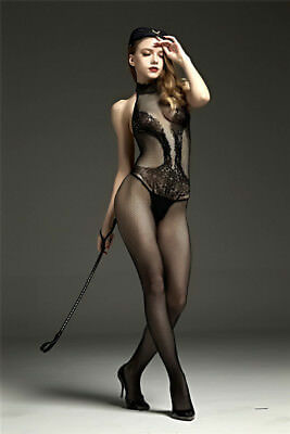 sexy Catsuit Dessous Babydoll Bodystocking erotik Reizwäsche Overall SM bandage 3