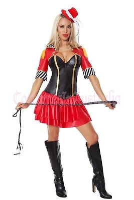 1 of 3 Ringmaster Circus Lion Tamer Showgirl Fancy Dress Halloween Costume Outfit  sc 1 st  PicClick UK & Ringmaster Circus Lion Tamer Showgirl Fancy Dress Halloween Costume Outfit