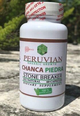 Chanca Piedra chancapiedra 1000mg 120 tab-cap Peruvian material Stone Breaker 2 2