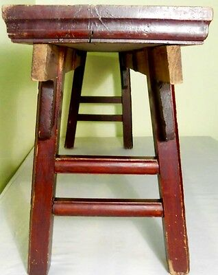 Antique Chinese Ming Bench (2611), Zelkova Wood, Circa 1800-1849 9