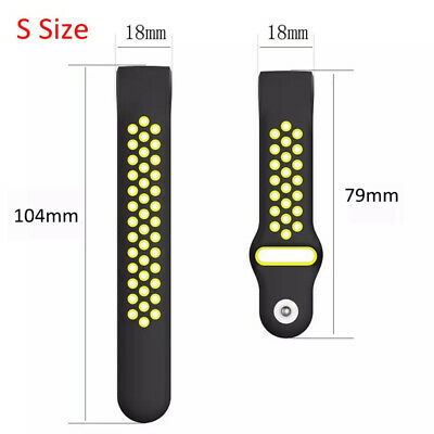 For Fitbit Charge 3 Replacement Silicone Wristband Watch Sports Band Strap NEW 4