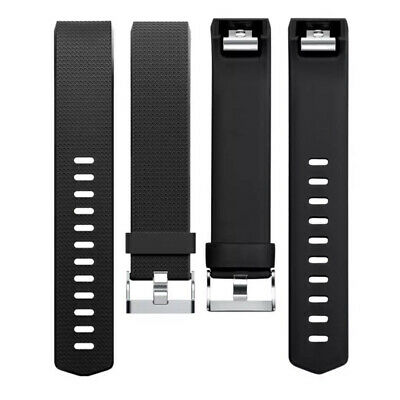 For Fitbit Charge 2 Bands Replacement Sport Strap Band Soft Silicone Adjustable 11