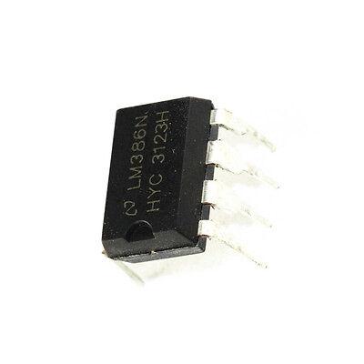 10PCS LM386 LM386N DIP-8 Audio Power AMPLIFIER IC Great Qualtiy/&.