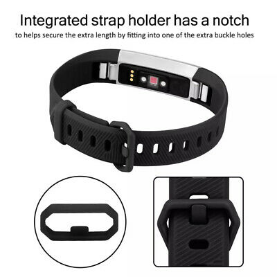 Replacement Band Fitbit Alta HR Silicone Wrist Watch Band Secure Buckle 3