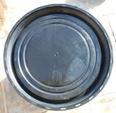 1 x Plastic Barrel, Water Butt, Storage Barrel with Lid, Feed Bins 50Ltr 4