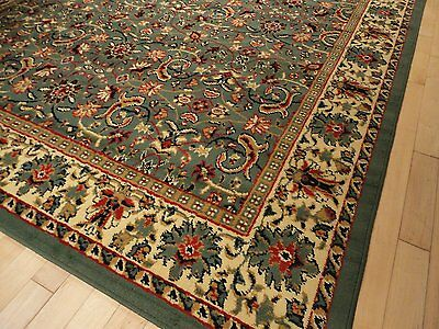 1 Of 4free Shipping New Green Area Rugs Traditional 8x11 Oriental Rug Persian Style Carpet Runners