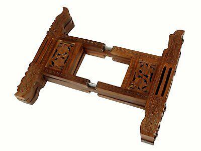 Tischgestell orient Teetisch zusammenklappbare tisch tablett gestell table stand 4