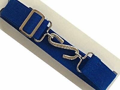 Kids Adjustable Snake Belt Boys Girls Ages 1-10 Elasticated All Colours 3