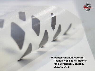 Felgenrand-Aufkleber Set für 16-18 Zoll Felgen - 800 blue - 710033 7