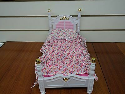 My Fancy Life Barbie Size Dollhouse Furniture Bed Room & Beauty Play Set 5