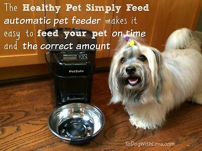 Automatic Pet Feeder. PetSafe Healthy Pet Simply Feed. Feed the right portions