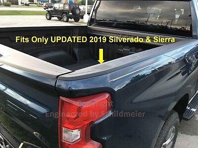Stake Pocket Covers Caps Plugs 2019-2020 Silverado Sierra Bed Rail Accessories 4