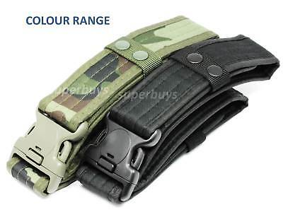 Black Heavy Duty Tactical Quick Release Belt Military Bouncer Emergency 54mm 3