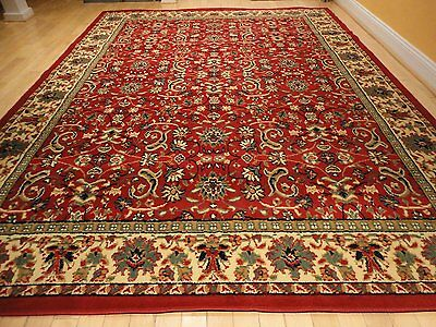 1 Of 6free Shipping Large Traditional Area Rugs Persian Style Carpet Oriental Rug 8x10 Red 5x8