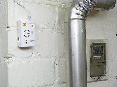 Gasmelder GA-117 für Stadtgas Erdgas Methan Butan Propan 3 Jahre Garantie