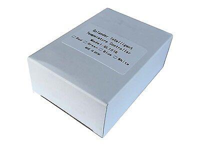 24V DC 1/32DIN PID Temperature Controller, White+ 25A SSR + K thermocouple