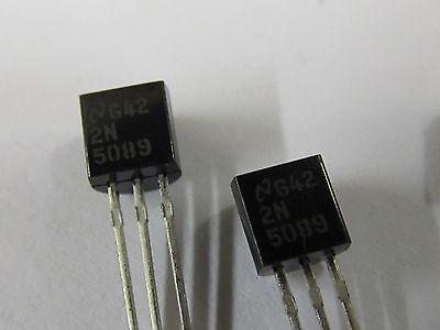 0020 Transistor 2N5551 NPN 180V 0.6A TO92 10 Stück
