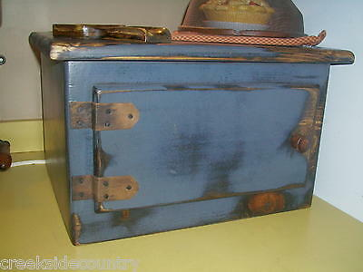 B Primitive Grungy Wood EXTRA LARGE Toaster Cover