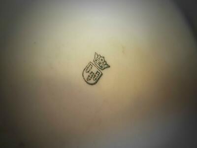 (z52) Schierholz'sche Porzellanmanufaktur Plaue APOTHEKERDOSE Porzellan Dose 3