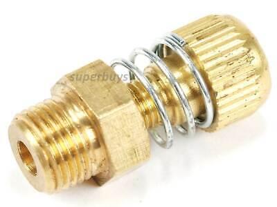 """1/8"""" NPT Adjustable Spring Pneumatic Silencer Brass Flow Muffler Exhaust Valve 2"""