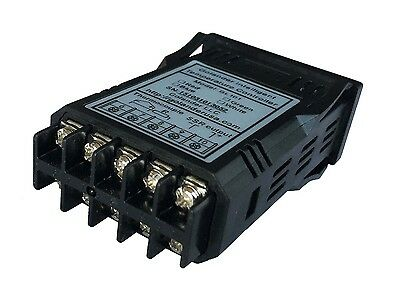 12V DC 1/32DIN PID Temperature Controller, White+ 25A SSR + K thermocouple