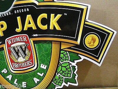 "/""Hop Jack/"" Widmer Brothers Portland Oregon Pale Ale Beer Tin//Metal Wall Sign 24/"""