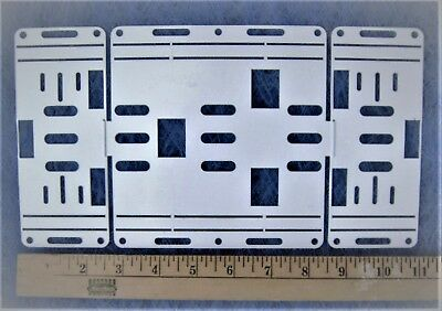 Retrofit Kit Conversion Plate for 8/' 2 Bulb T12 Light Strip To T8 LED Fixture
