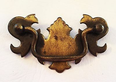 "Gorgeous ..... Vintage Chippendale Cabinet drawer pulls....3"" on center 6"