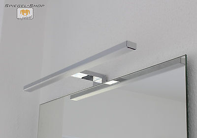 4 Von 6 Arnota Led Leucht Lampe Beleuchteter Bad Spiegel Mit Steilfacette  Nach Maß
