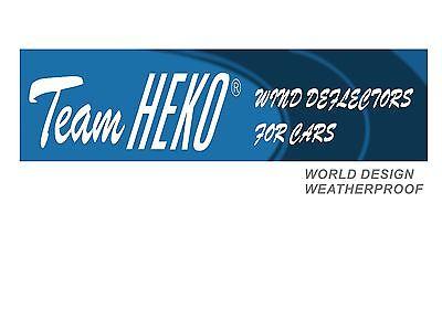 FIAT DUCATO 2 Portes 2014-prés  Deflecteurs d'air Déflecteurs de vent 2pcs 8