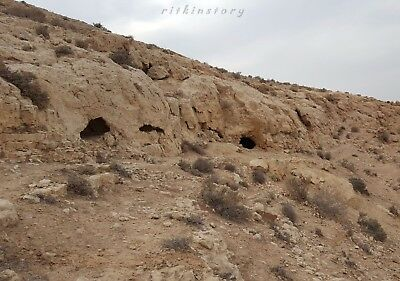 ⚱ Ancient Prehistoric Neolithic Paleo • Flint Blade • Arrowhead • Tool Israel ⚱