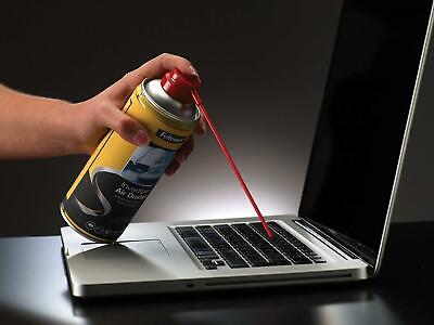 FELLOWES Air Duster Can , PC Keyboard Printer Dust  , Safe Compressed Canister 2