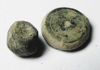 Zurqieh - As14030-  Ancient Holy Land. Byzantine Bronze Weights. 800 - 1000 A.d 2