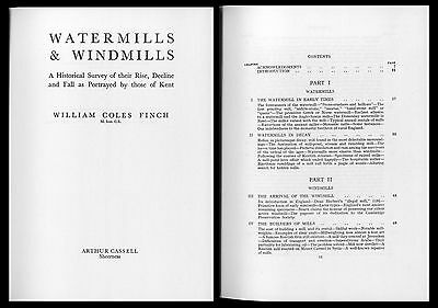 Watermills and Windmills Mühlengeschichte Mühlen Müller Windmühlen W. C. Finch 2
